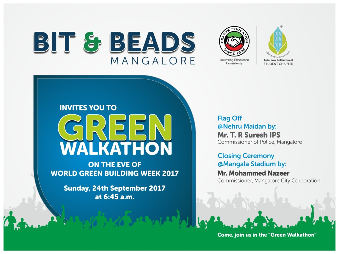 Green Walkathon Invitation 2017